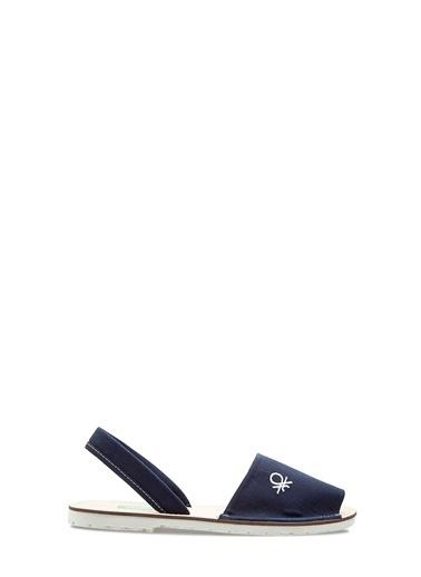 Benetton Bn1009 Kadın Sandalet Lacivert